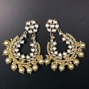 Gold plated chandbalis- brand new